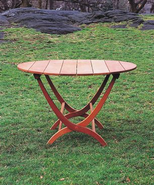 Kelso Round Folding Dining Table