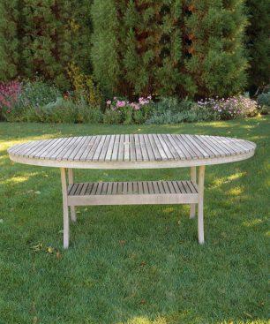 Taconic Oval Dining Shelf Table
