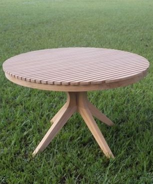 Taconic Round Dining Table