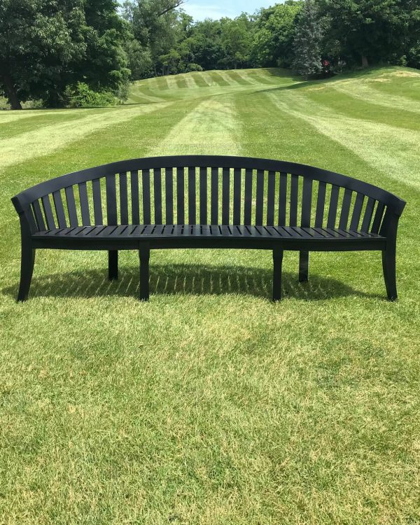 Black Wharton Bench
